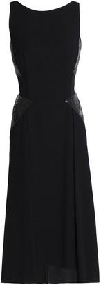Amanda Wakeley Bead-embellished Stretch-ponte Dress