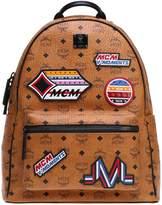 MCM Patch Appliqué Backpack