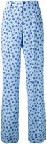 P.A.R.O.S.H. star print flared trousers