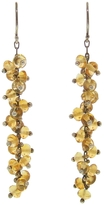 Ten Thousand Things Citrine Beaded Spiral Earrings