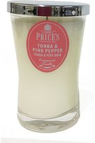 Price's Candle - Tonka and Pink Pepper