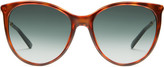 Gucci Cat eye sunglasses with Web