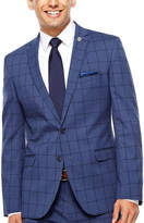 Asstd National Brand Nick Graham Blue Black Suit Set-Slim