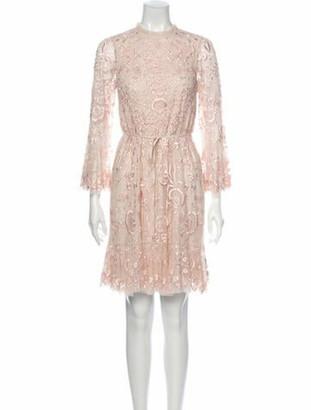 Needle & Thread Demetria Mini Mini Dress w/ Tags Pink