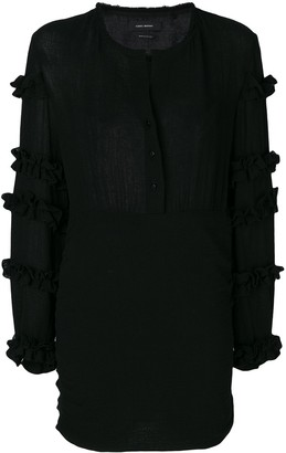Isabel Marant Ruffle-Trimmed Dress