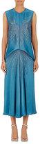 Stella McCartney Women's Embellished Satin Midi-Dress