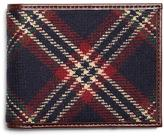 Brooks Brothers Signature Tartan Wallet