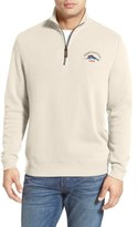 Tommy Bahama 'Classic Aruba' Original Fit Half Zip Sweater