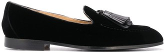 Doucal's Fringe Trim Loafers