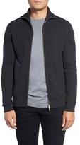 Theory Men's Merino Wool Mock Neck Zip Sweater