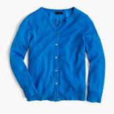 J.Crew Italian featherweight cashmere cardigan sweater