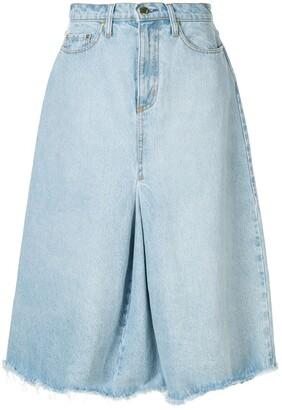 Nobody Denim Charter denim skirt