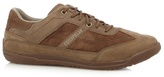 Caterpillar Brown Suede Casual Lace-up Trainers
