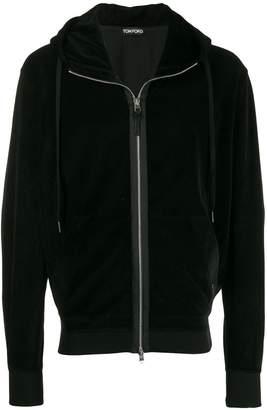 Tom Ford front zip hoodie