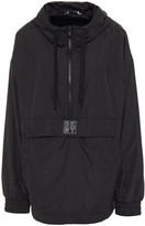 Thumbnail for your product : DKNY Appliqued Shell Hooded Jacket