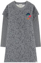 Paul Smith Bi-material sweatshirt dress