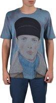 """Gucci Kris Knight Portrait"""" Men's Multi-Color Short Sleeve T-Shirt"""