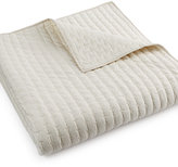 Hotel Collection Modern Eyelet Quilted King Coverlet