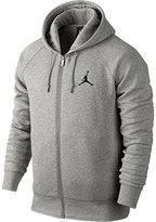 Jordan Nike Mens Jumpman Brushed FZ Hooded Sweatshirt HOODIE