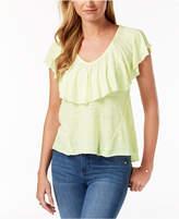Lucky Brand Ruffled T-Shirt