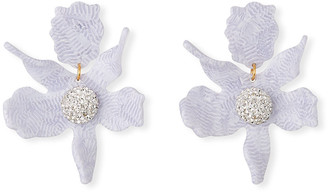 Lele Sadoughi Lily Stud Earrings w/ Crystals