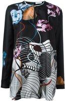 Vionnet floral print blouse