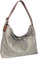 Nino Bossi Women's Lexis Leather Hobo