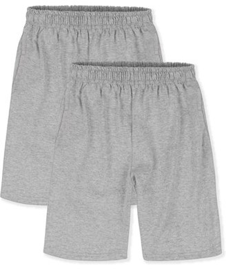 Hanes Boys 4-18 ComfortSoft Jersey Pocket Active Short Value Pack, 2 Pack