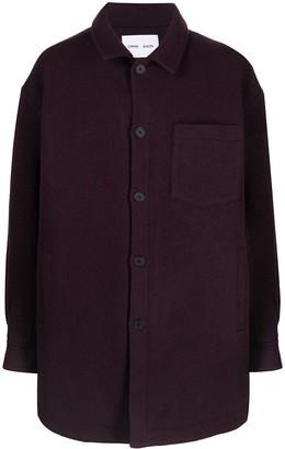 Cmmn Swdn Owen wool shirt jacket