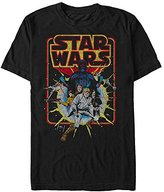 Star Wars Men's Old School Comic Graphic T-Shirt
