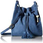 Fossil Claire Small Drawstring-Cornflower