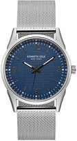Kenneth Cole New York Men's Stainless Steel Mesh Bracelet Watch 40mm 10030779