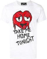 Dom Rebel Take Me Home Tonight printed T-shirt - men - Cotton - M