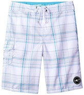 O'Neill Kids Santa Cruz Plaid Boardshorts (Big Kids)