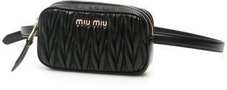 Miu Miu Matelasse Belt Bag