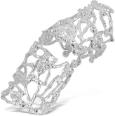 Forzieri Bernard Delettrez Skeletons Silver Metal Articulated Ring