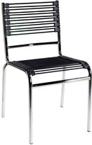 Euro Style Eurostyle 02660 Beetle Stacking Chair Set Of 4 chrome