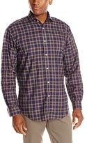Thomas Dean Men's Flannel Check Button-Down Shirt