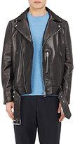Acne Studios Men's Nate Leather Moto Jacket