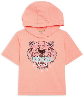Kenzo Heart Icon Tiger Hoodie (3-14 Years)
