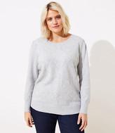 LOFT Plus Bobble Heart Sweater