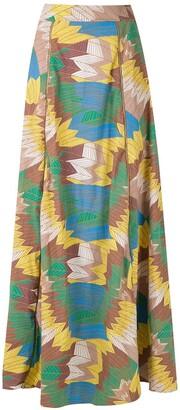 AMIR SLAMA High-Waisted Maxi Skirt