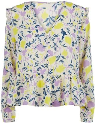 New Look JDY Floral Frill Shirt