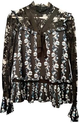 Erdem X H&m Black Lace Top for Women