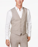 Tasso Elba Men's Classic-Fit Chambray Vest, Only at Macy's