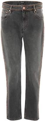 Isabel Marant Netiff studded cropped jeans