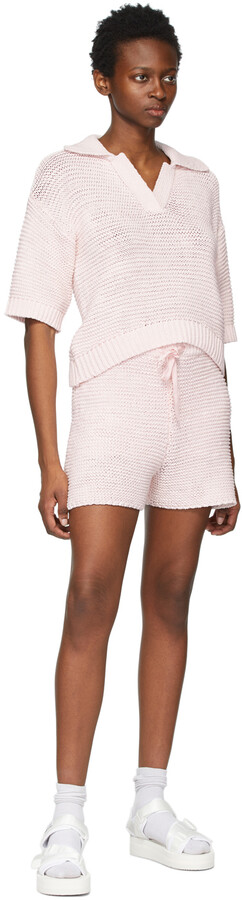 Thumbnail for your product : Sjyp Pink Knit Polo