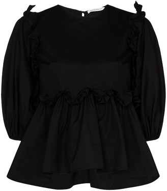 Cecilie Bahnsen Marie pleated blouse