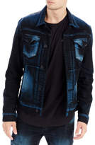 True Religion Dylan Distressed Denim Jacket