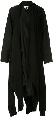 aganovich Layered Asymmetric Hem Dress